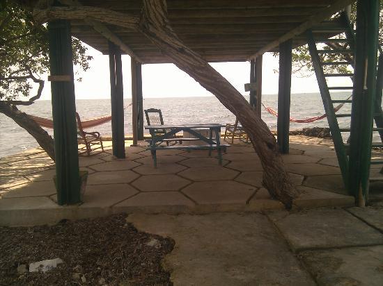 Hotel Puntanorte: Under the cabana
