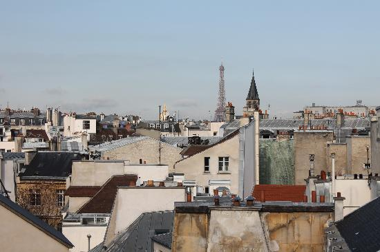 Holiday Inn Paris - Notre Dame: View from Balcony - Room 615