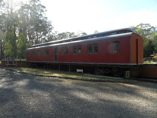 End of the Line Railway Accommodation: Govener's Carriage