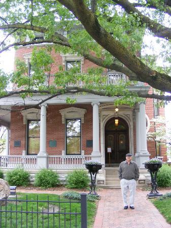 Benjamin Harrison Presidential Site : Beautiful home