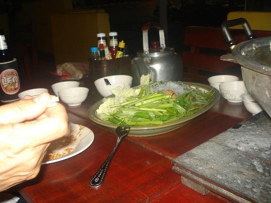 Ohlala: Fuente de verduras