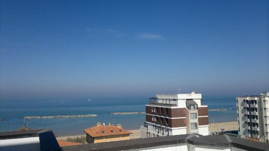 Hotel Mediterraneo - a view from the balcony