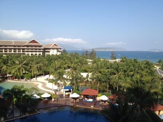 The Ritz-Carlton Sanya Yalong Bay: vista oceano dalla room 2515