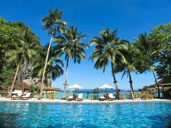 El Nido Resorts Lagen Island: nice view from the pool