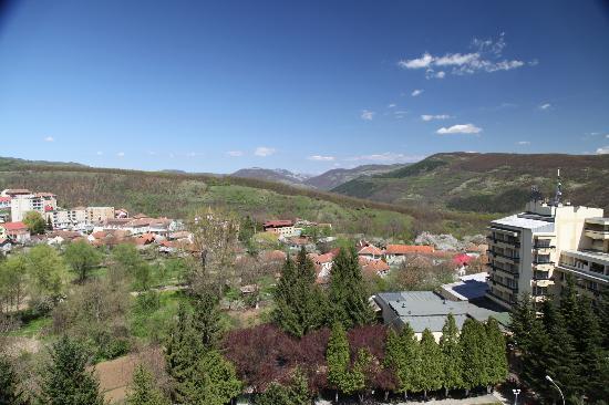 Germisara Hotel Resort & Spa: View from a sixth floor room (morning)