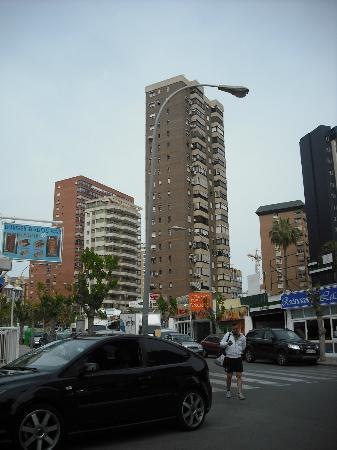 Maria Victoria Apartments: the smaller white one in centre