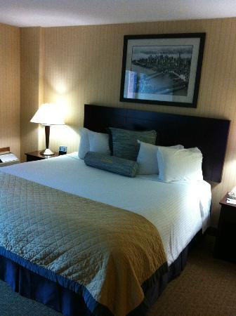 Wyndham Garden Newark Airport: King size comfortable bed