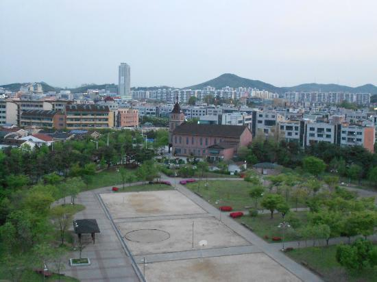 Aura Tourist Hotel: View from top floor