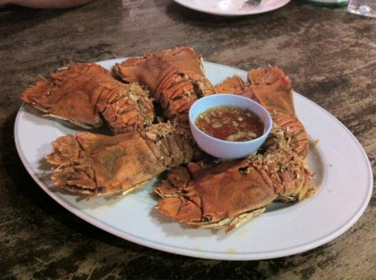 Chaiyo Seafood Restaurant: Deep Fried Flatted Lobster with Garlic