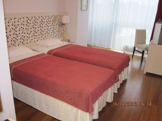โรงแรมเจอร์มาล่าสปา: стандартный номер