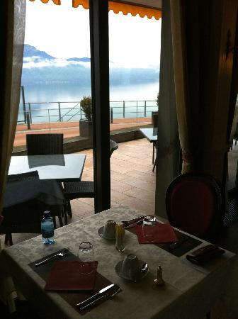 Le Baron Tavernier: View from the breakfast room