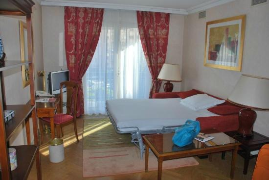 Warwick Reine Astrid - Lyon: Salotto e secondo letto