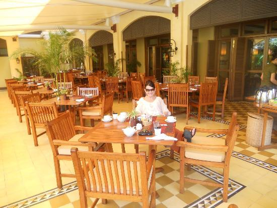 Victoria Angkor Resort & Spa : The breakfast area