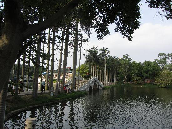Nanning People's Park: one of the lakes