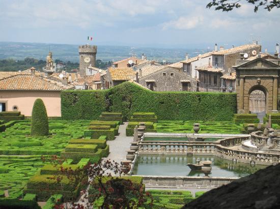 Bagnaia, Italien: vista