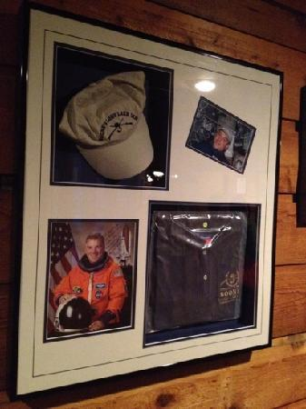 Boone's Long Lake Inn: astronaut took the Boone hat to space
