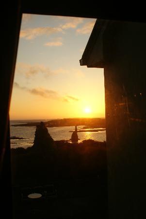 Tigh Fitz: Sonnenaufgang von meinem Zimmer aus