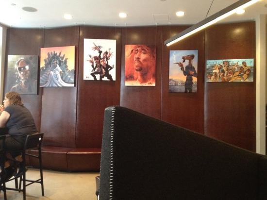 NU Hotel: new lobby 2012