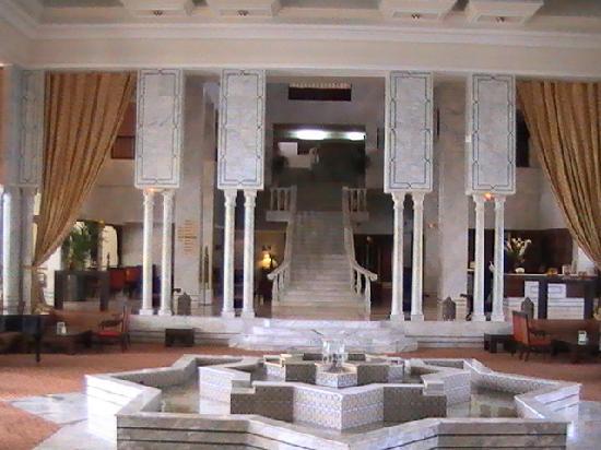 Hotel Le Royal Hammamet : lobby