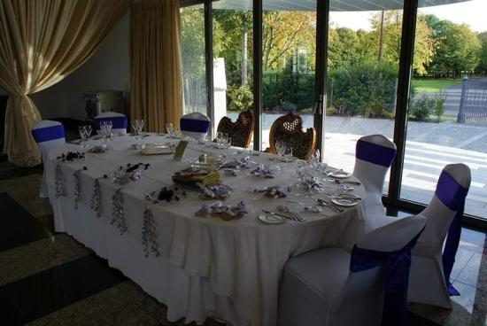 Leverhulme Hotel & Spa: top table