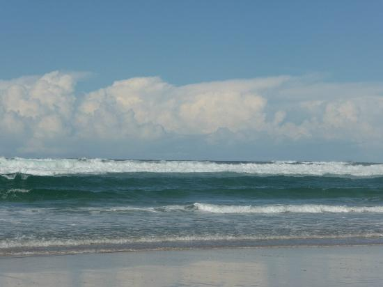 Burleigh Heads Beach : Surfs up