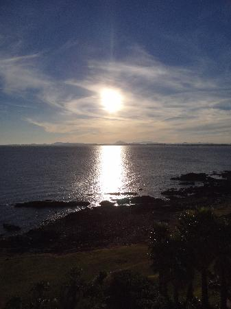 Punta Ballena, Uruguay: atardecer
