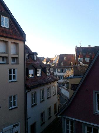Hotel Alt Bamberg: view from Hotel Altbamberg bedroom