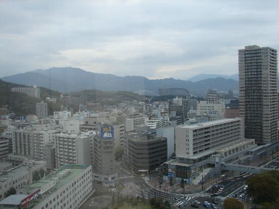 Hotel Granvia Hiroshima: View from our room