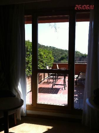 Abba Garden Hotel: Acceso terraza habitación