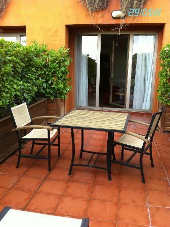 Abba Garden Hotel: Terraza1