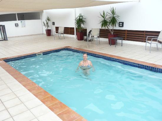 Saltwater Luxury Apartments: Pool area