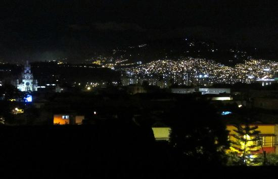 61Prado Guesthouse: night view from rooftop