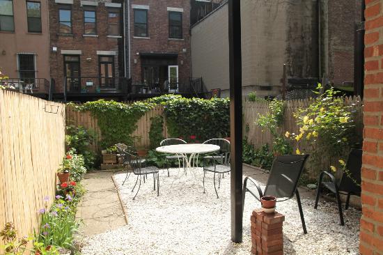 Easyliving-harlem : Blick in den Garten