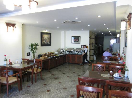 Hanoi Charming 2 Hotel : restaurant