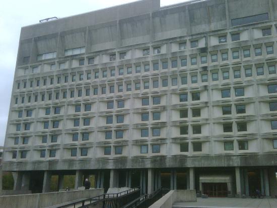 Hotel UMass: Exterior of hotel