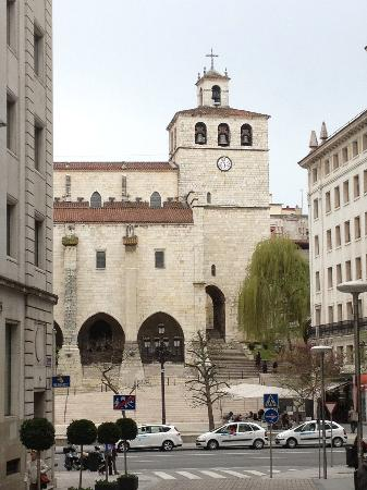 Cathedral Santander: view of cathedral