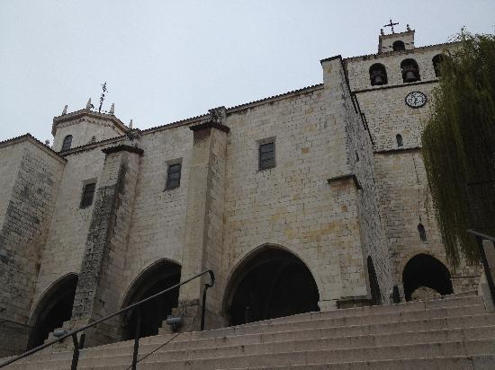 Cathedral Santander : from the street