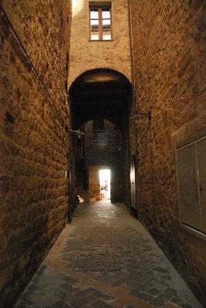 Entry To Osteria Del Borgo