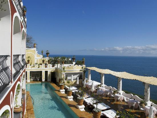Le Sirenuse Hotel: e chi aveva voglia di uscire