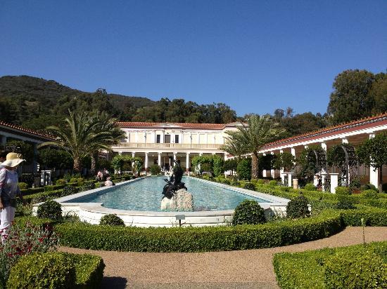 Garden Picture Of The Getty Villa Malibu Tripadvisor