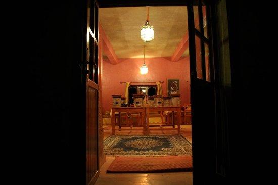 Hotel Ksar Merzouga : Dining