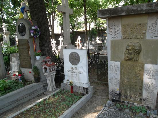 Bellu Cemetery : The Writers' Alley