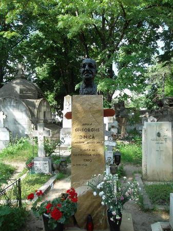 Bellu Cemetery: Gheorghe Dinica's Grave