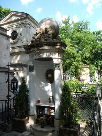 Bellu Cemetery: Iulia Hasdeu's Grave