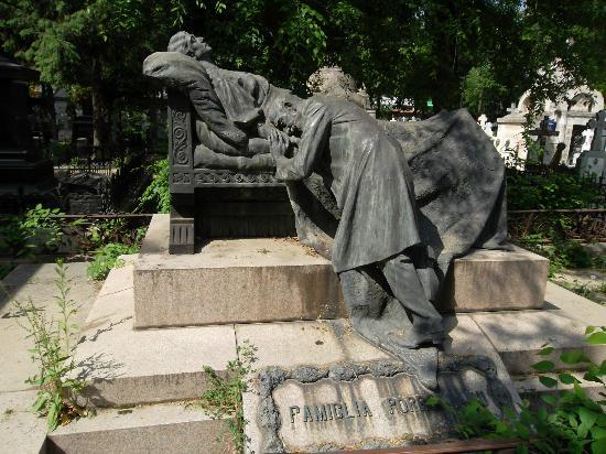 Bellu Cemetery: Porroianu's Grave