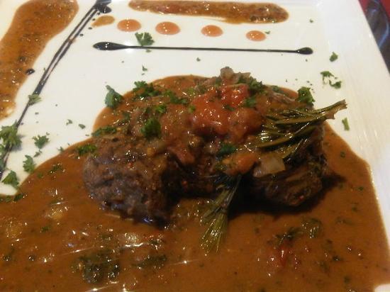 "Brasserie de la Foret: The Beef Filet ""Voronoff"" 200 gr"