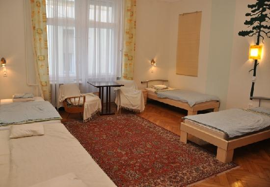 Pesto Hostel: 4 bed private room