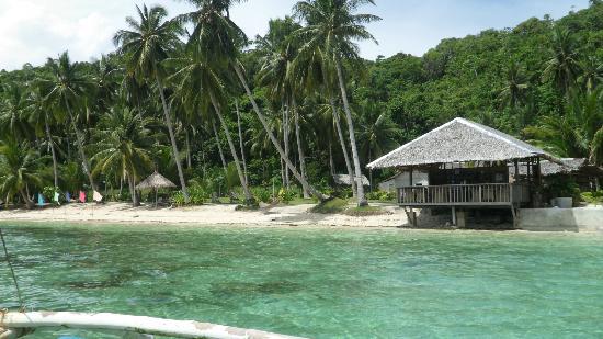 Blue Cove Island Resort: Beachfront