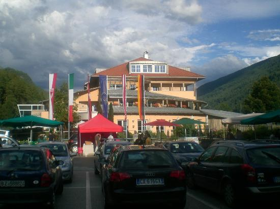Hotel Lodenwirt: hotel visto dalla depandance