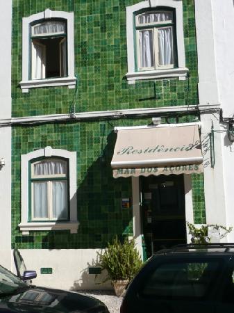 Residencia Mar dos Acores : Entrance of the hotel
